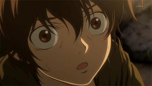 Gundam 00 : Boy wonders if Gundam is God.